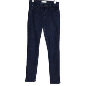 Levi's Mid Rise Skinny Blue Jeans